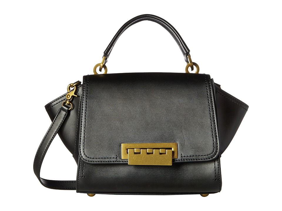 ZAC Zac Posen - Eartha Iconic Mini Top-Handle Crossbody (Black) Top-handle Handbags