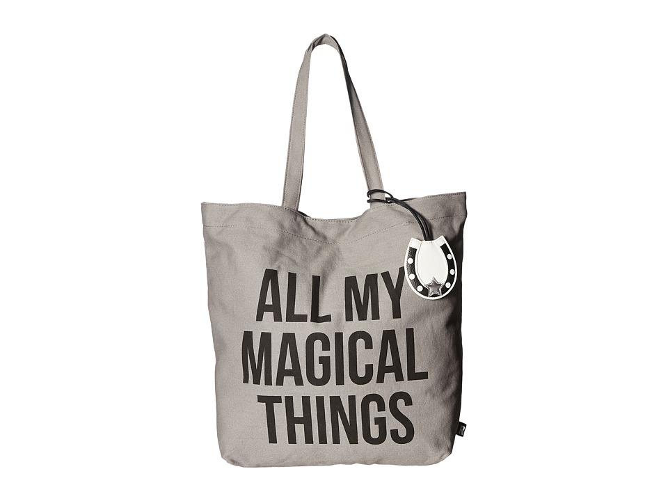 Circus by Sam Edelman - Cooper Canvas Printed Tote (All My Magical Things/Black) Tote Handbags
