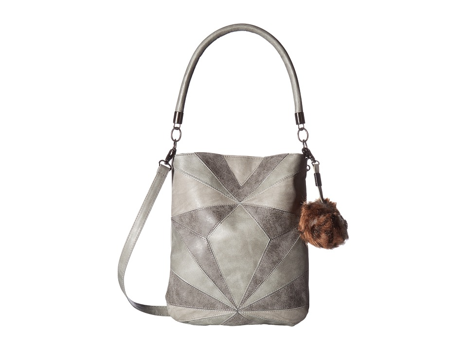 Circus by Sam Edelman - Whitney Patchwork Shoulder Bag (Multi Grey) Shoulder Handbags