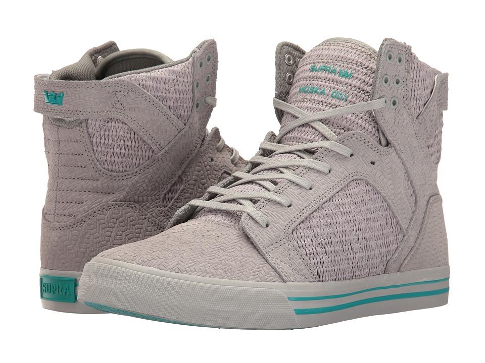 Supra - Skytop (Light Grey/Light Grey) Men's Skate Shoes