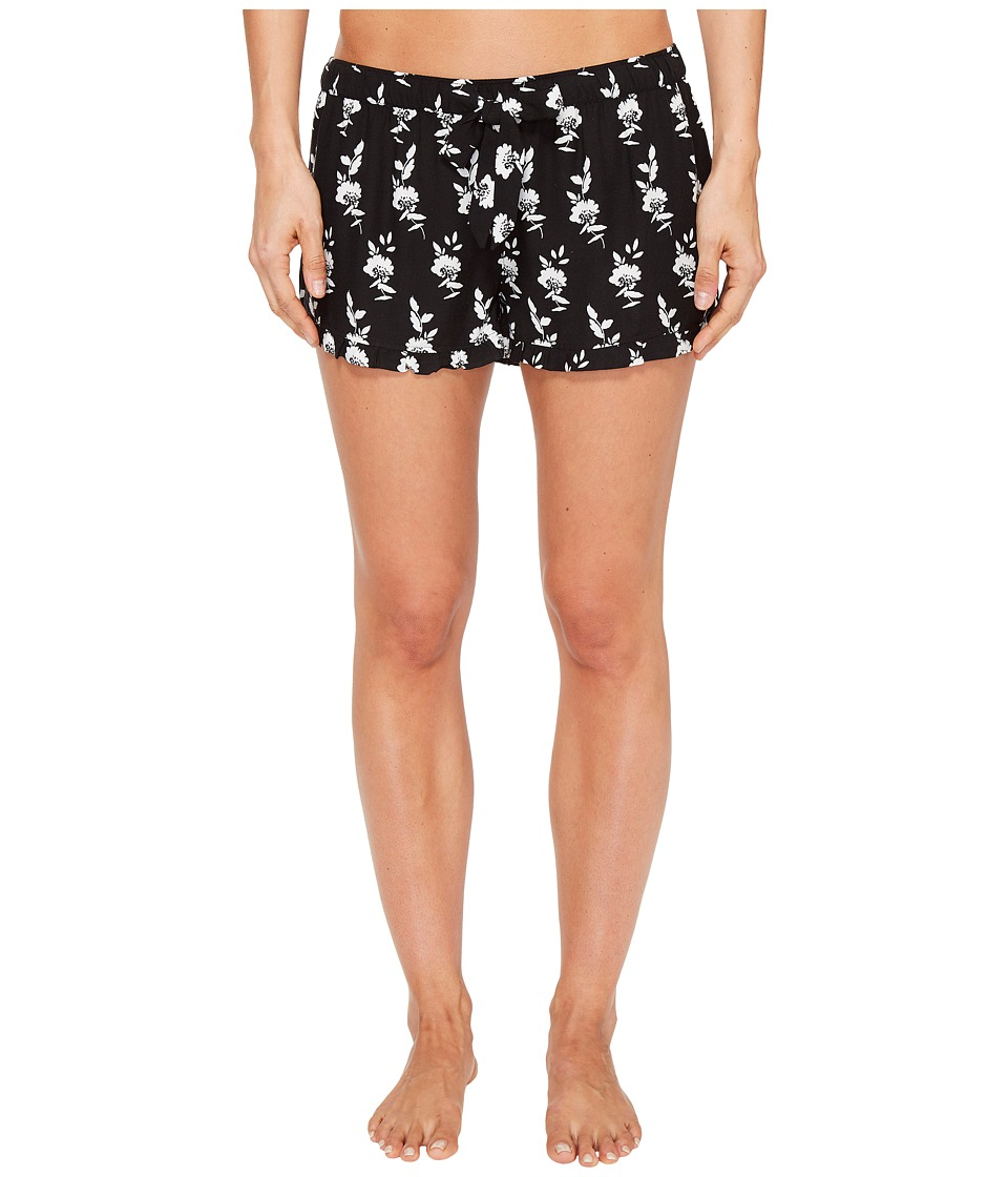 P.J. Salvage - Boho Babe PJ Shorts (Black) Women's Shorts