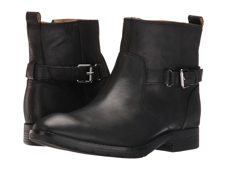 Sebago Nashoba Chelsea Waterproof (Black Leather 1) Women