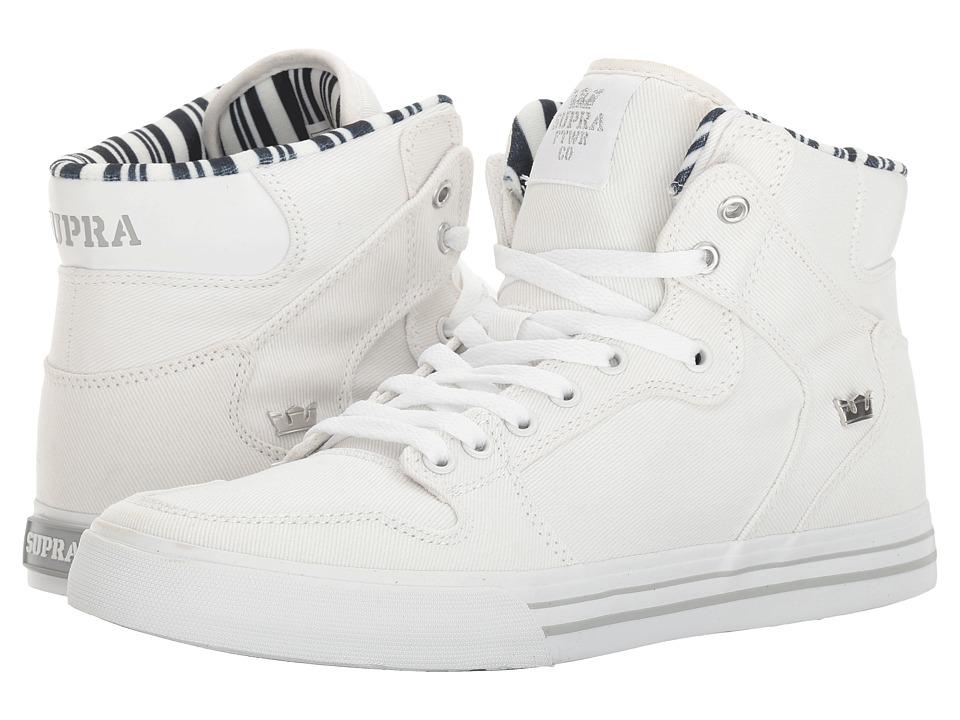 Supra - Vaider (White Denim/White) Skate Shoes