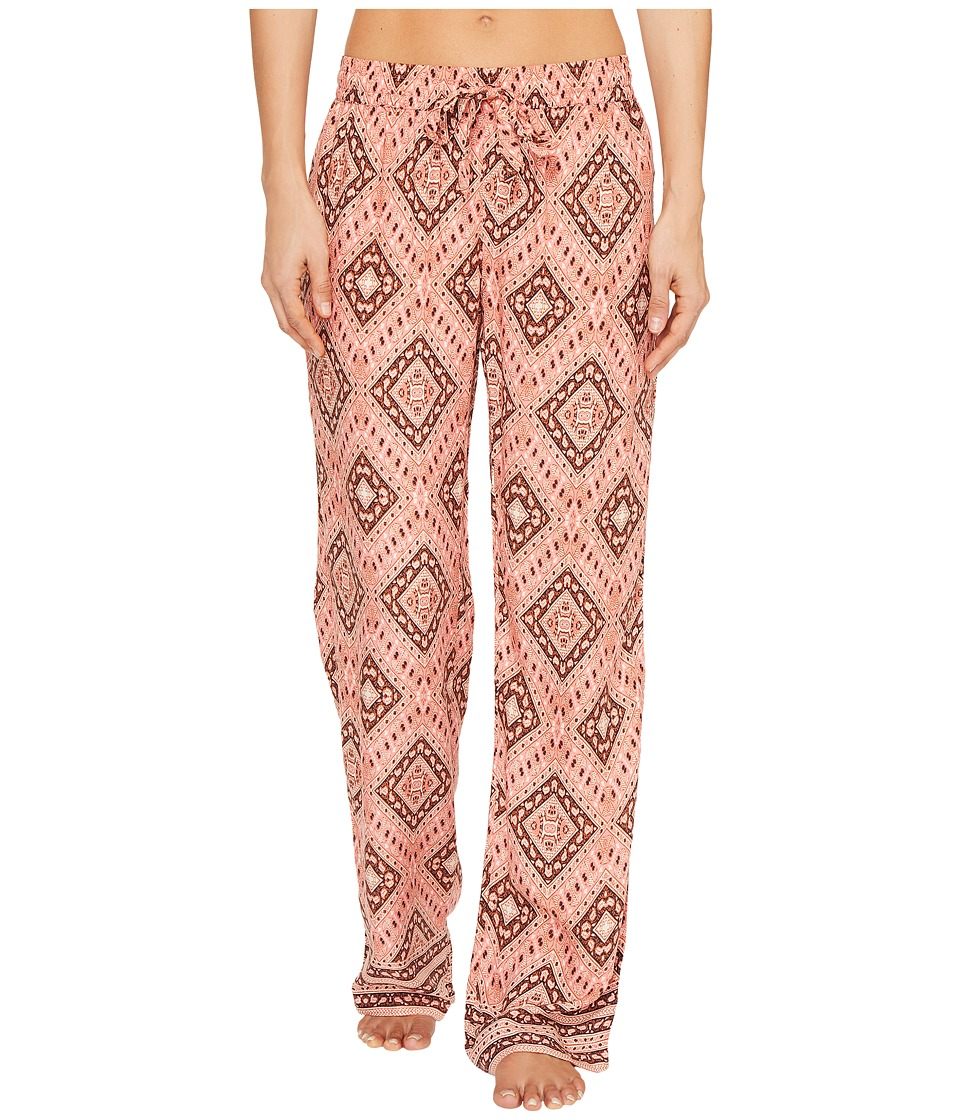P.J. Salvage - Boho Babe Lounge Pants (Strawberry) Women's Casual Pants