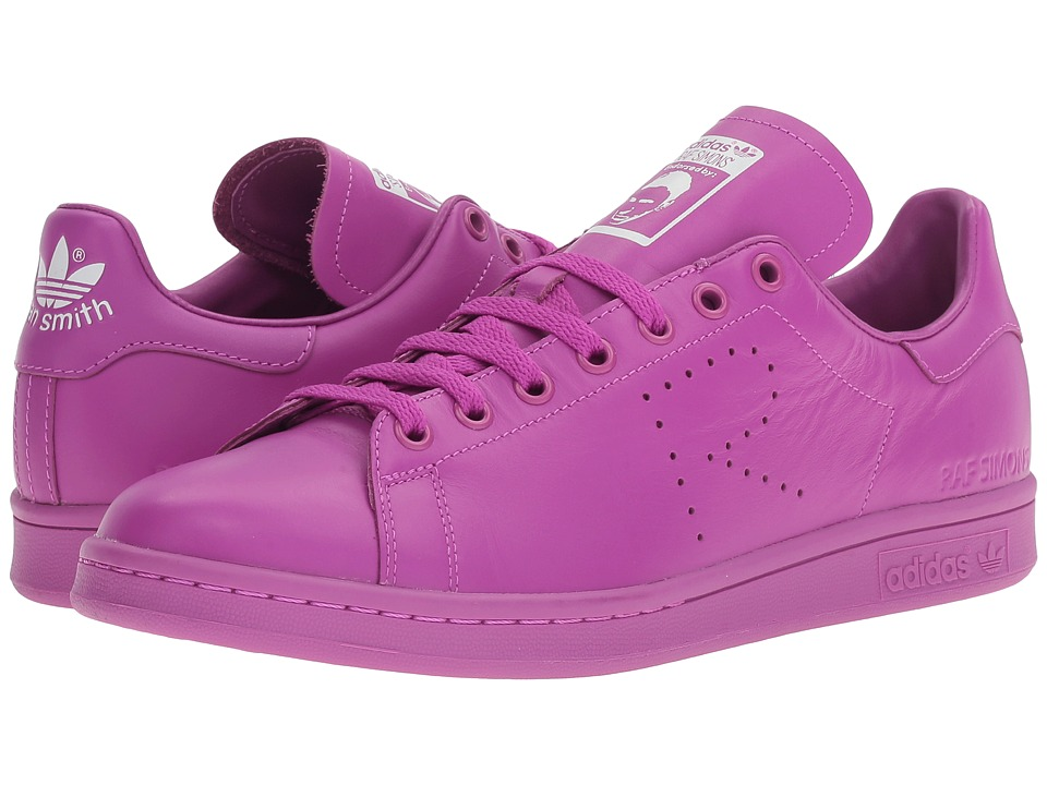 adidas by Raf Simons - Simons Stan Smith (Flat Pink/Footwear White/Flat Pink) Lace up casual Shoes