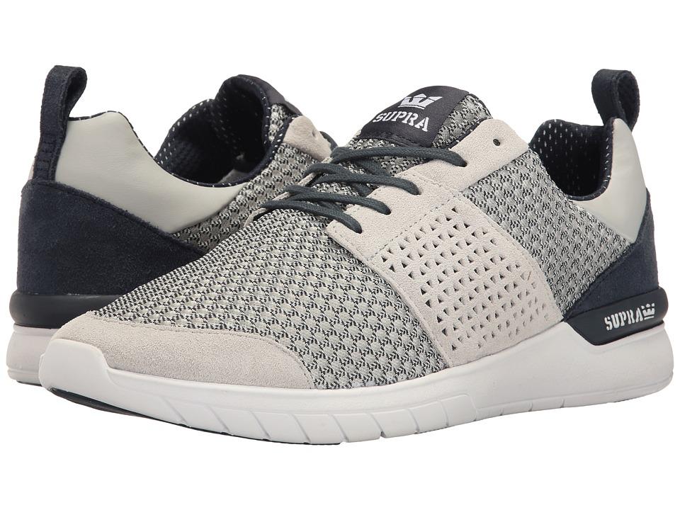 Supra - Scissor (Navy/White/Light Grey/Navy) Men's Skate Shoes