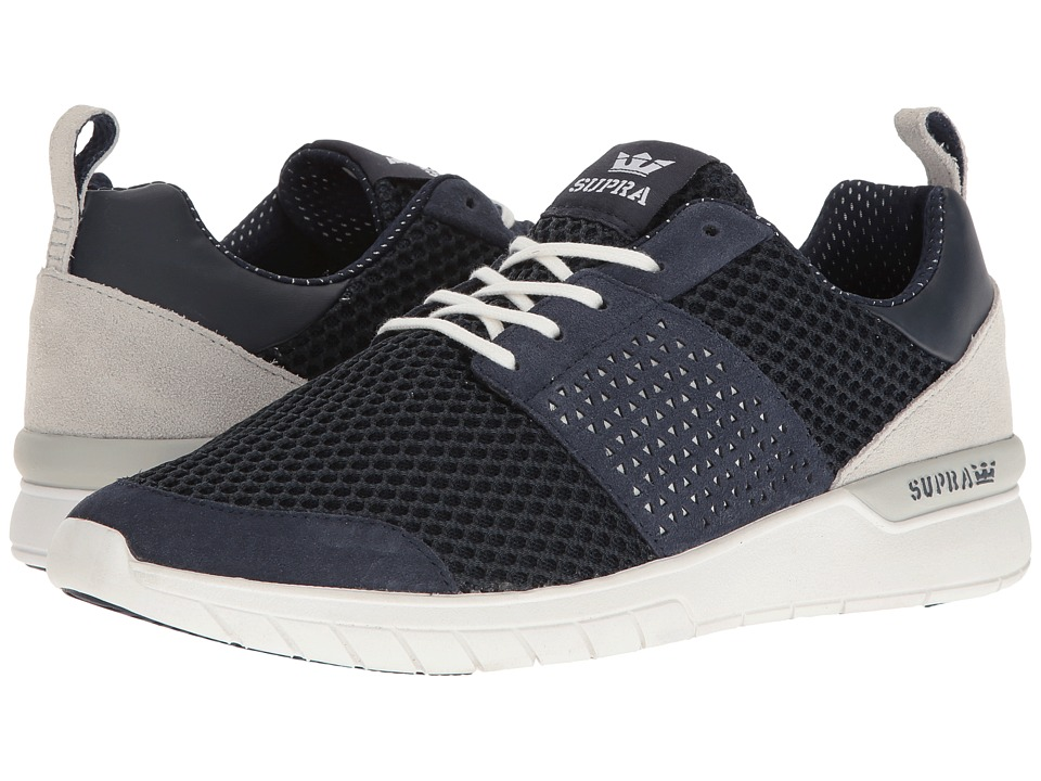 Supra - Scissor (Navy/Navy/Grey/White) Men's Skate Shoes