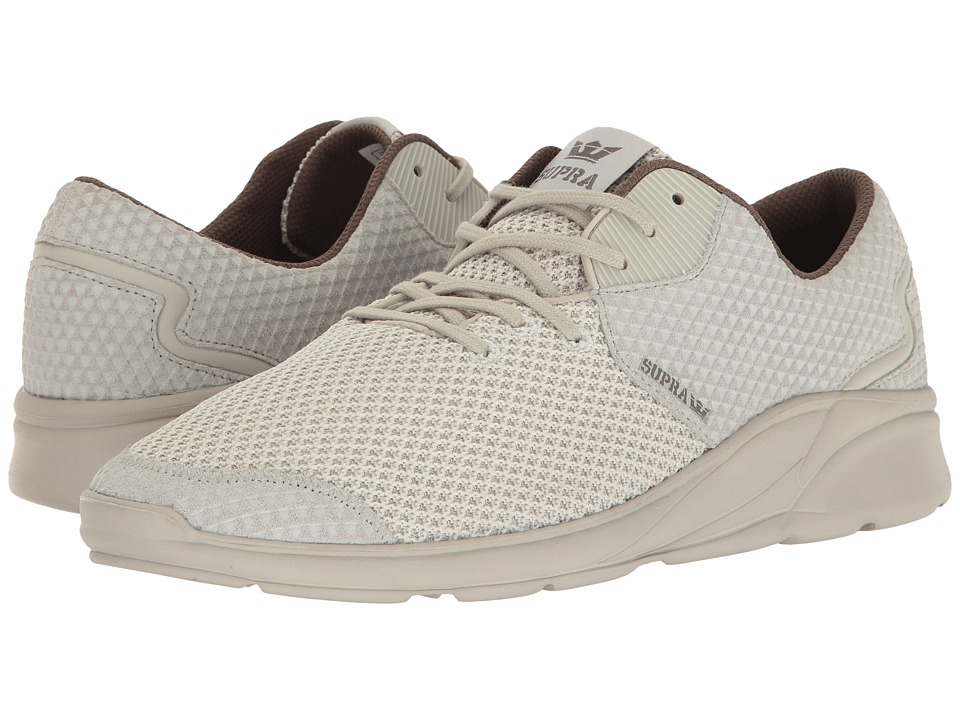 Supra - Noiz (Light Grey/Light Grey/Light Grey) Men's Skate Shoes