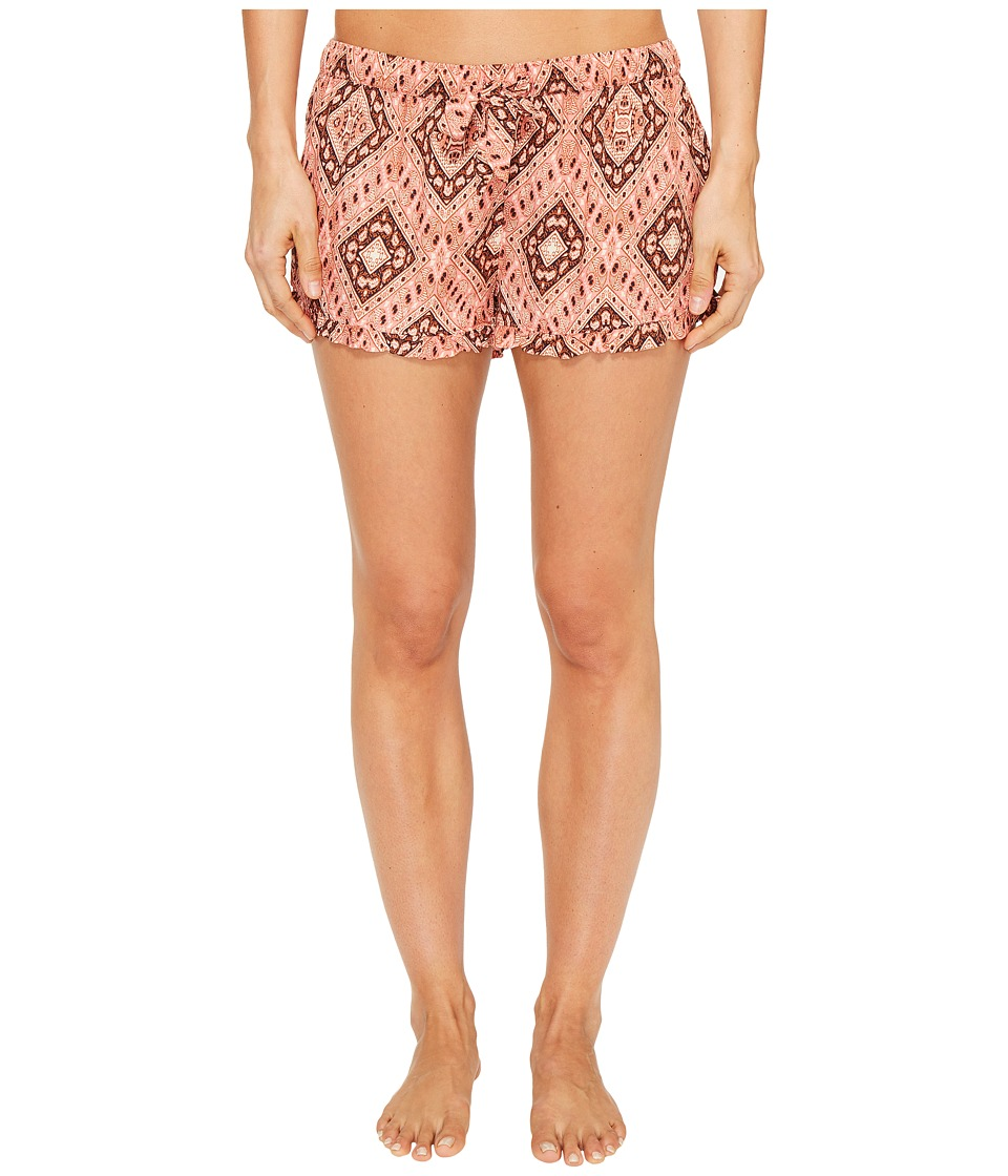 P.J. Salvage - Boho Babe PJ Shorts (Strawberry) Women's Shorts