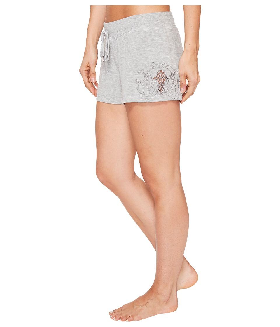 P.J. Salvage - Laser Lounge PJ Shorts (Heather Grey) Women's Pajama