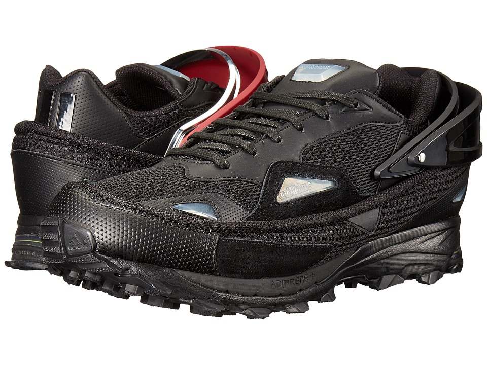 adidas by Raf Simons - Raf Simons Response Trail 2 (Core Black/Core Burgundy/Silver) Men's Shoes