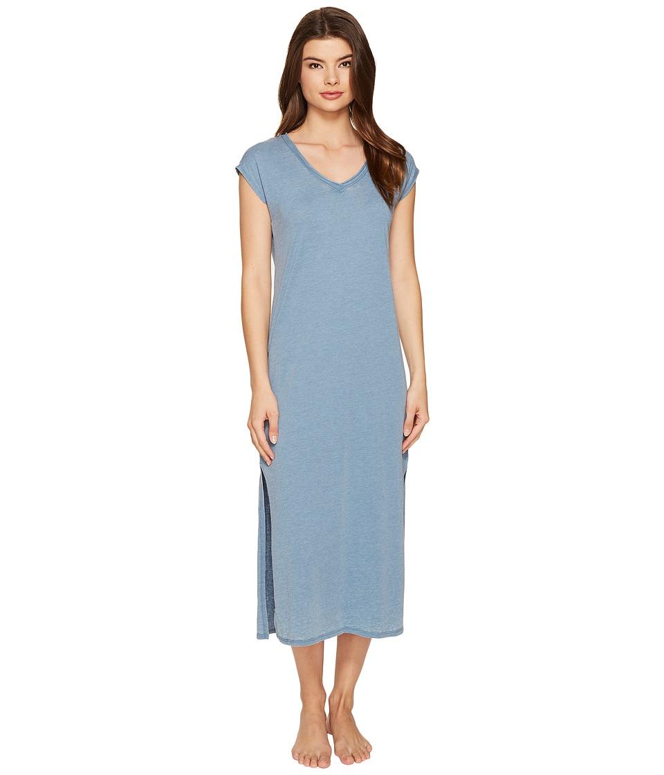 P.J. Salvage - Burnout Sleepshirt (Denim) Women's Pajama