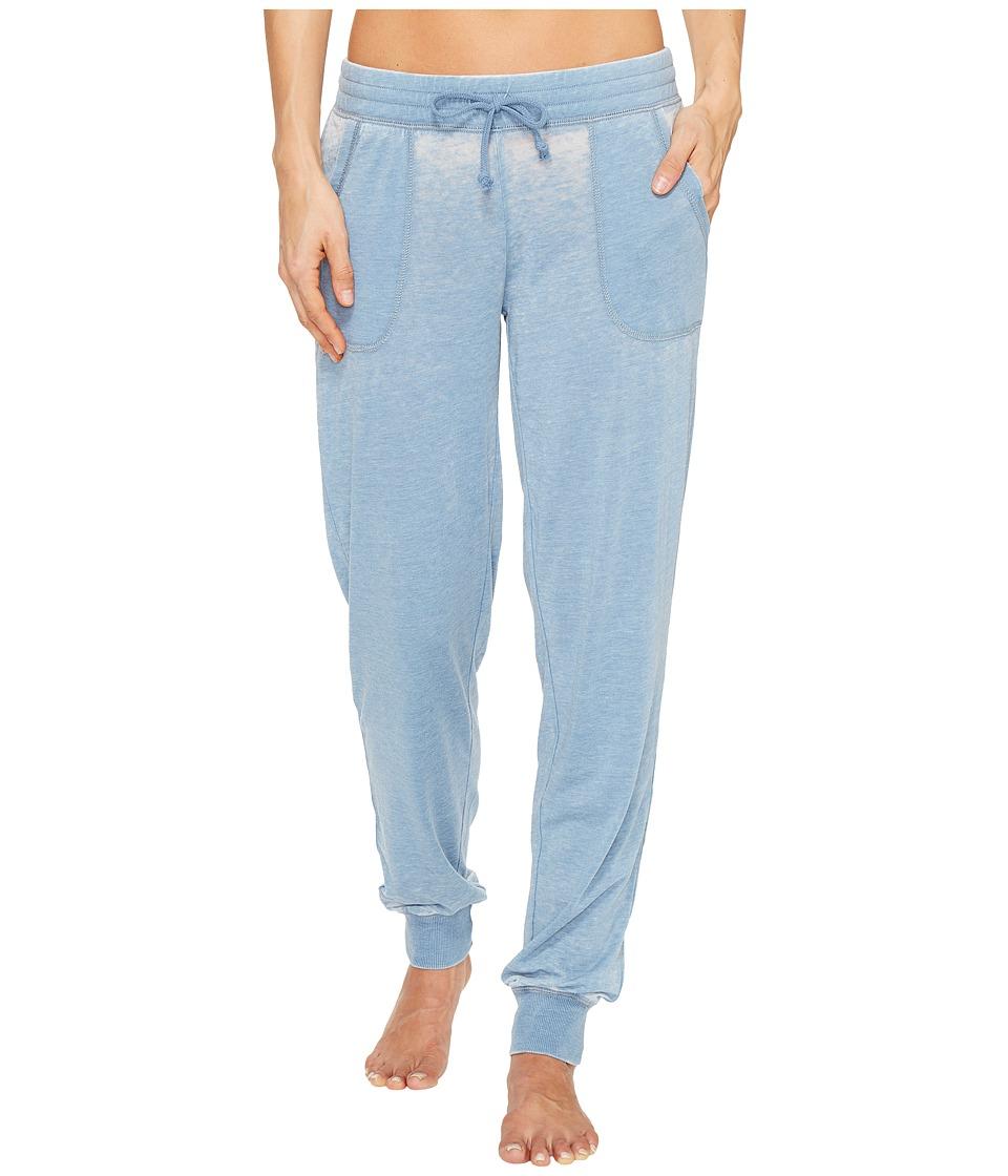 P.J. Salvage - Burnout Joggers (Denim) Women's Casual Pants