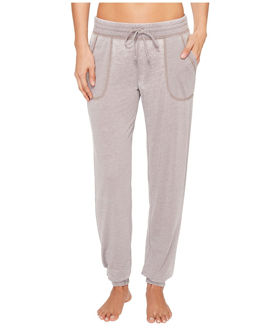 P.J. Salvage - Burnout Joggers (Stone Grey) Women's Casual Pants
