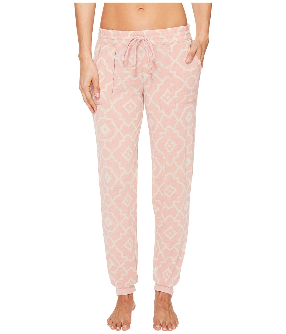 P.J. Salvage - Burnout Joggers (Dusty Rose) Women's Casual Pants