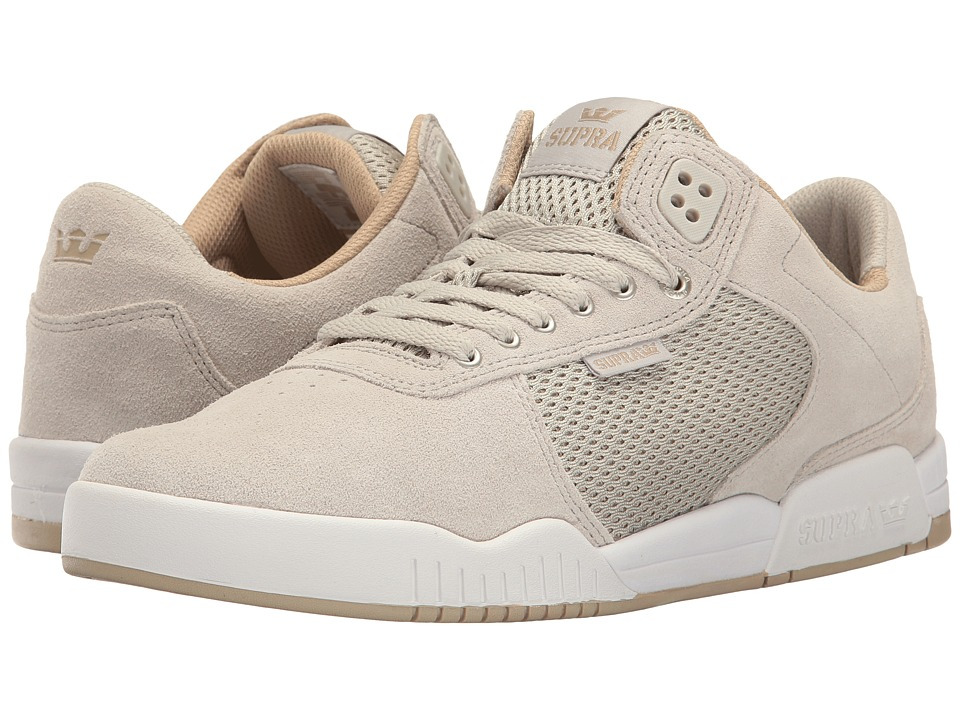Supra - Ellington (Light Grey/Light Grey/White) Men's Shoes