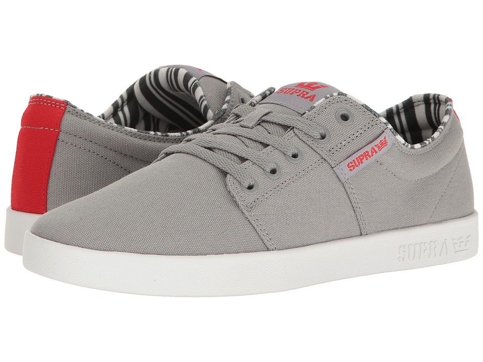 Supra - Stacks II (Grey/White 2) Men's Skate Shoes