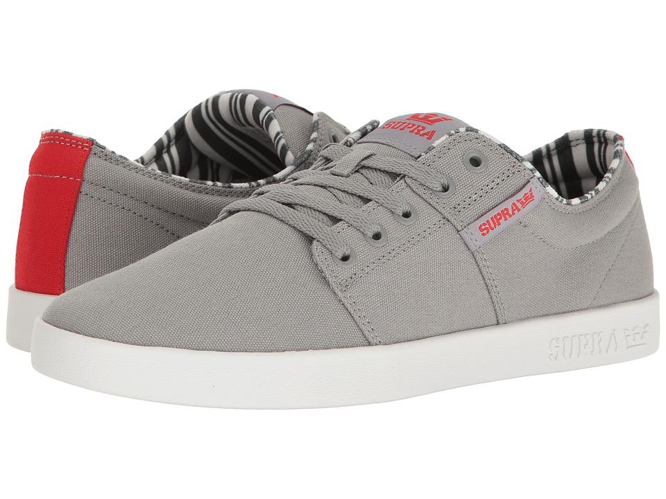Supra - Stacks II (Grey/White 2) Men's Skate Shoes