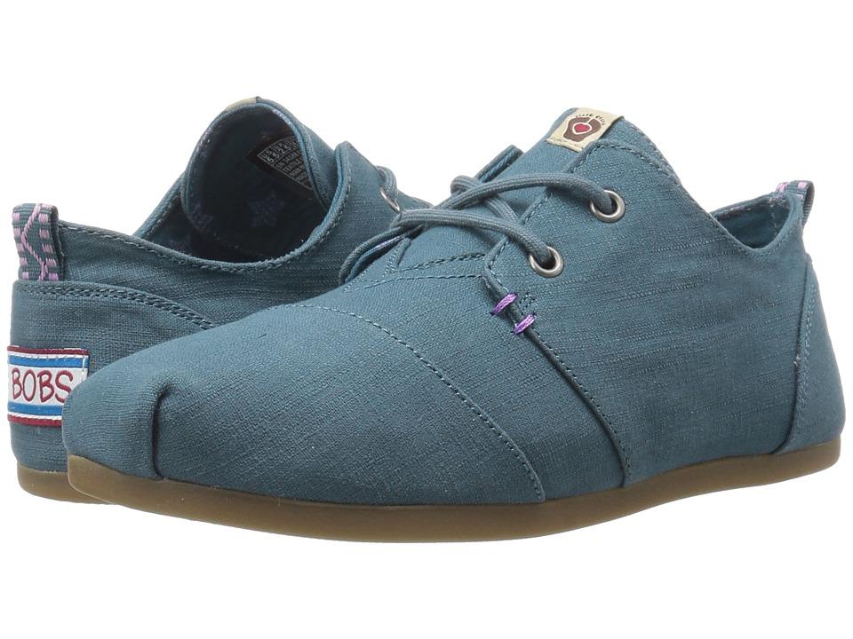 BOBS from SKECHERS - Bobs Plush - Star Struck (Navy) Women's Shoes