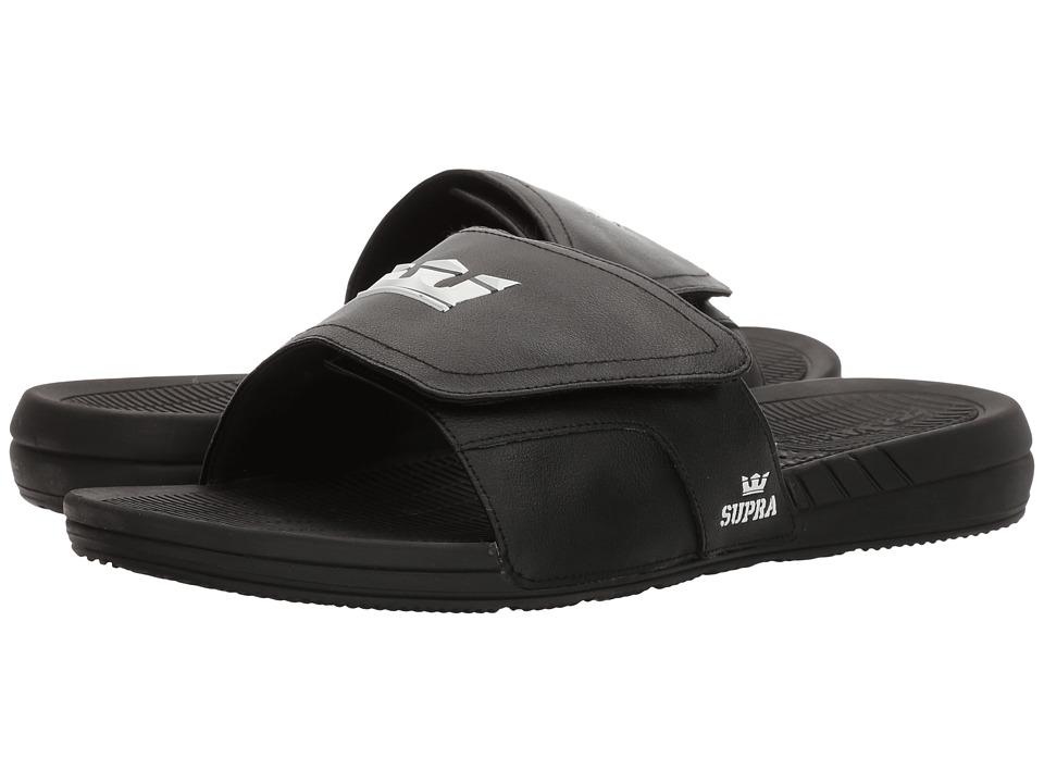 Supra - Locker (Black/Black) Men's Sandals