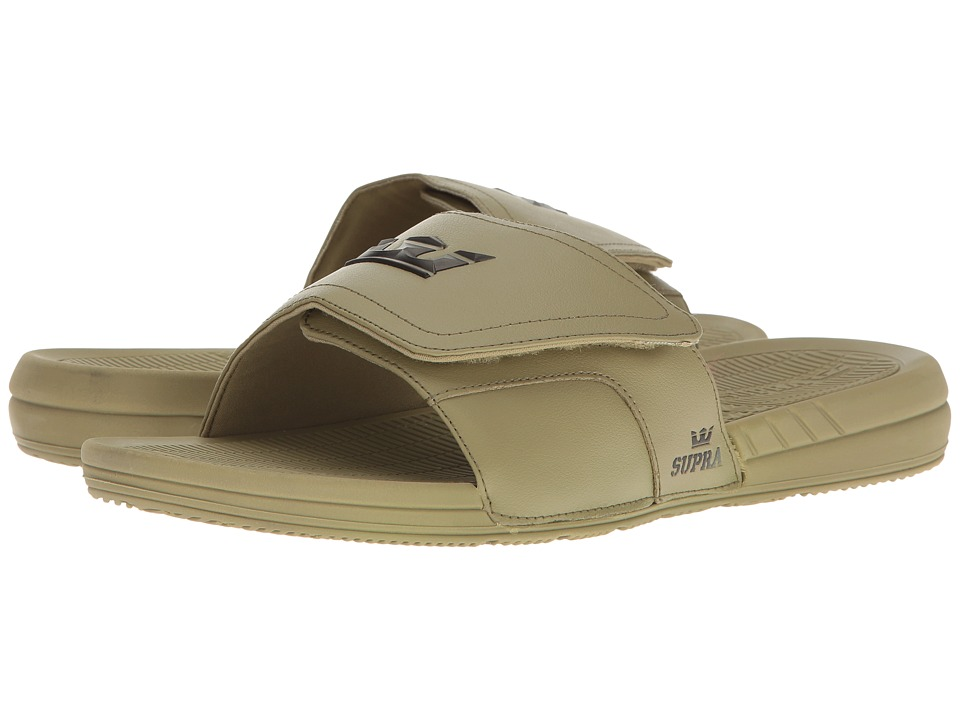 Supra - Locker (Army/Army) Men's Sandals