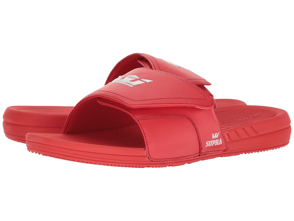 Supra - Locker (Red/Red) Men's Sandals