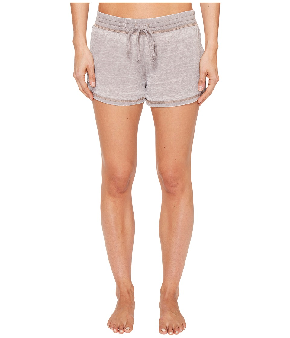 P.J. Salvage - Burnout PJ Shorts (Stone Grey) Women's Pajama
