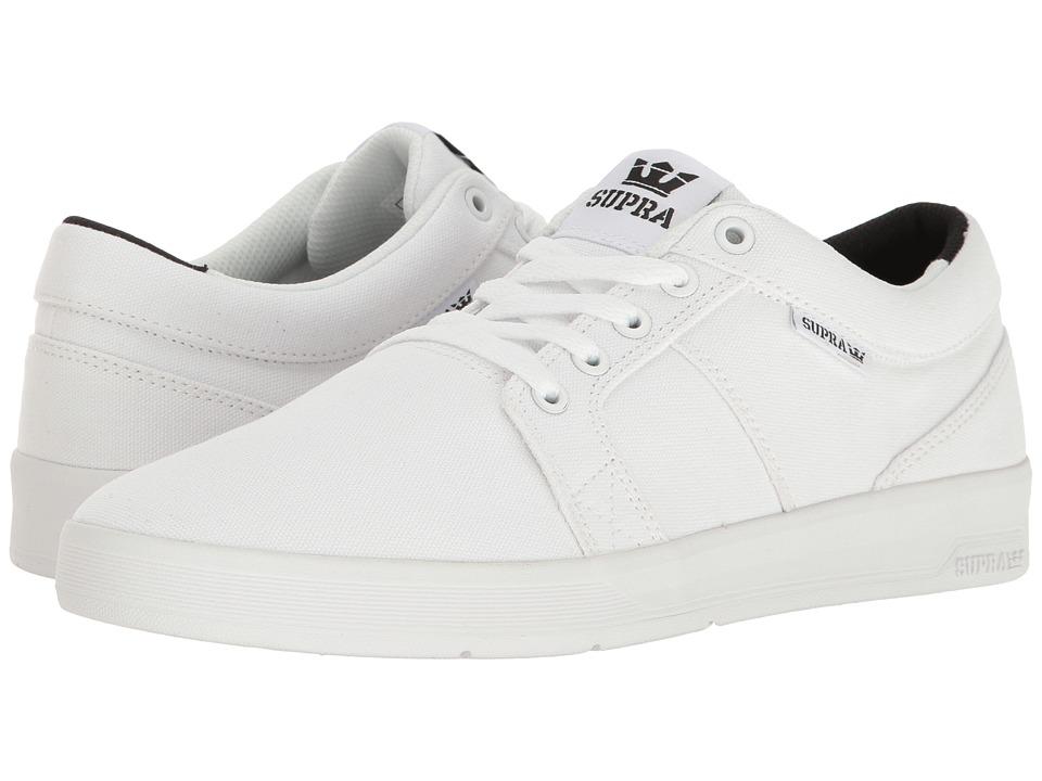 Supra - Ineto (White/White 2) Men's Skate Shoes