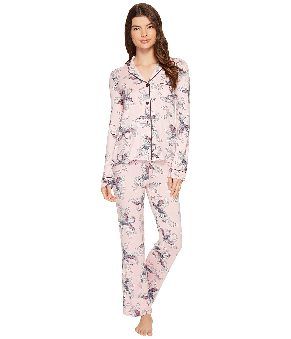 P.J. Salvage - Take Flight PJ Set (Pink) Women's Pajama Sets