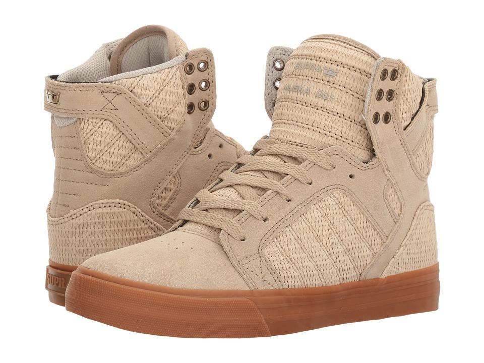Supra - Skytop (Tan/Tan/Gum) Women's Skate Shoes