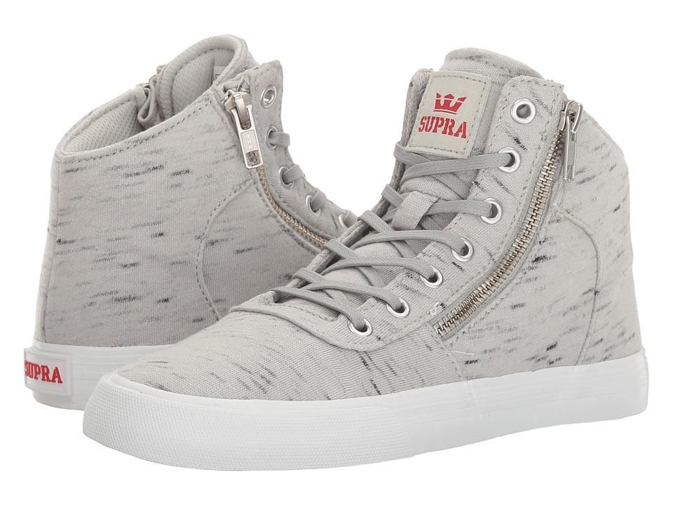 Supra - Cuttler (Grey/White) Women's Skate Shoes