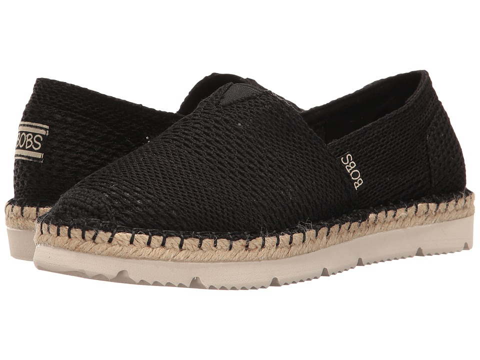 BOBS from SKECHERS Flexpadrille 2 (Black) Women
