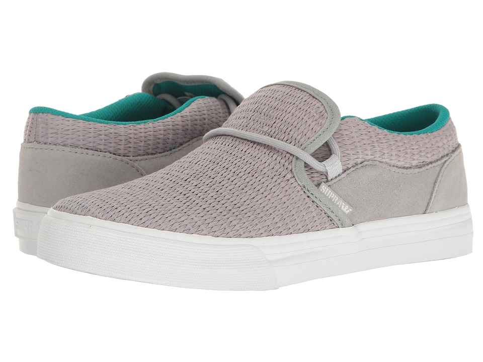 Supra Cuba (Light Grey/White) Women