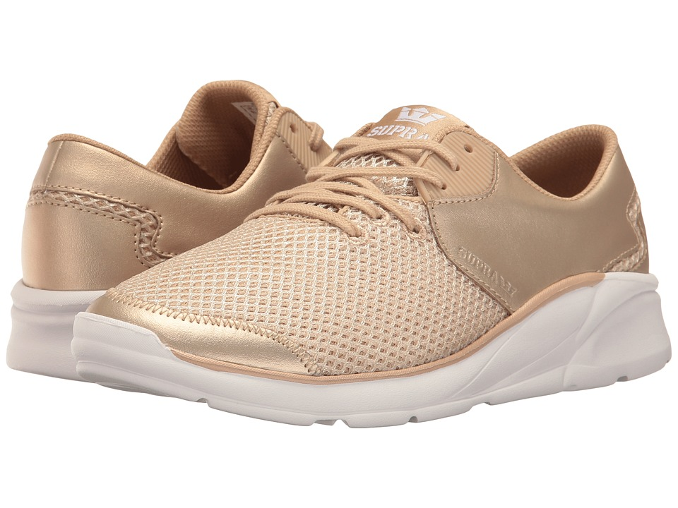 Supra - Noiz (Rose Gold/Rose Gold/White) Women's Skate Shoes