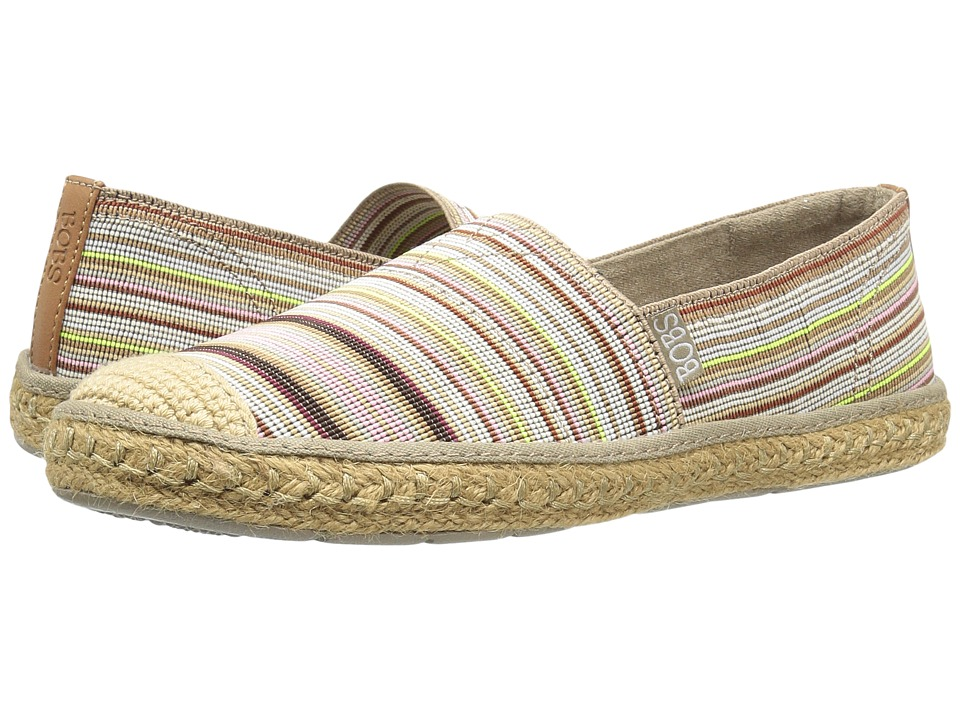 BOBS from SKECHERS Flexpadrille Cabana (Natural/Multi) Women