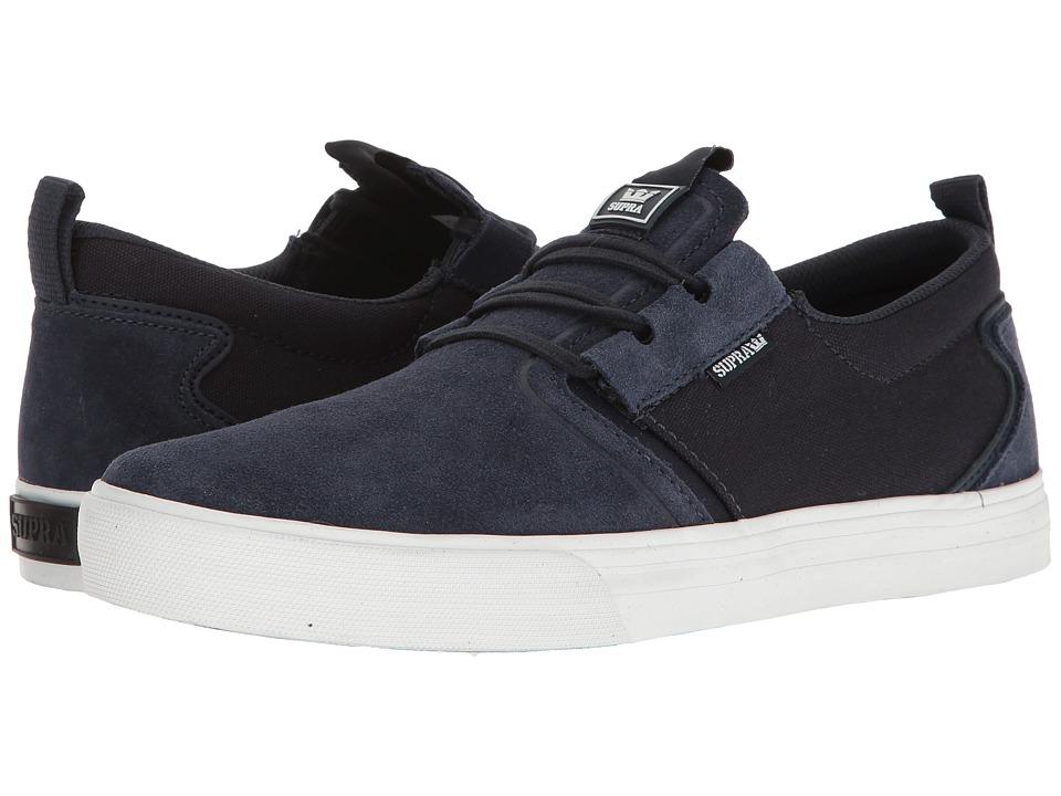 Supra - Flow (Navy/Navy/White) Men's Skate Shoes