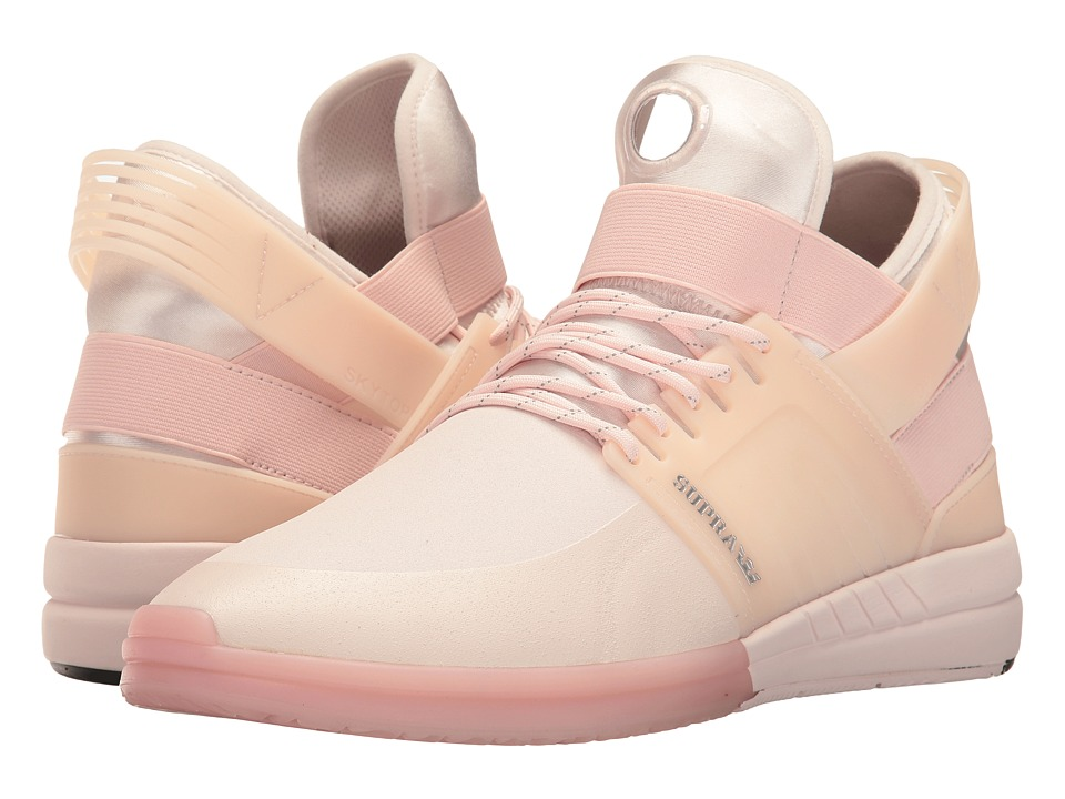 Supra - Skytop V (Light Pink/Light Pink/Light Pink) Men's Skate Shoes