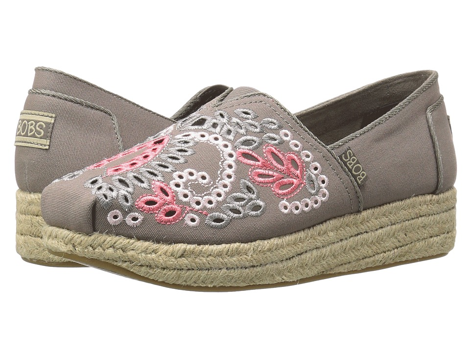 BOBS from SKECHERS Highlights Casa Fiesta (Taupe/Multi) Women