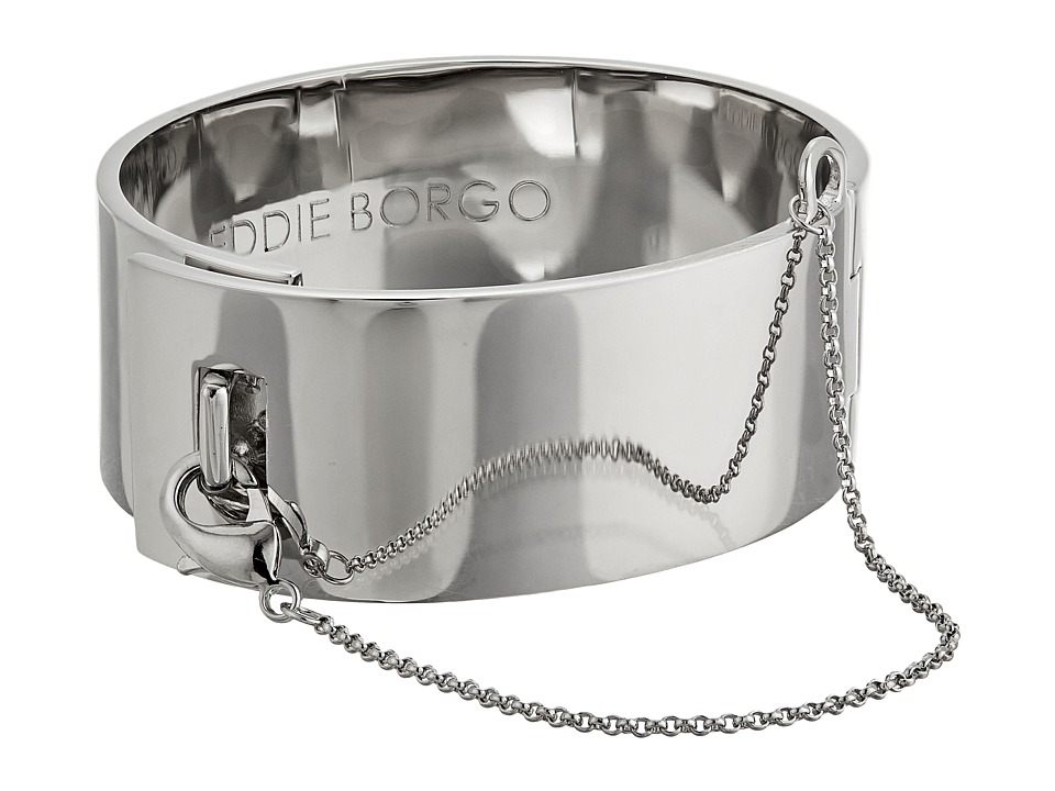 Eddie Borgo - Safety Chain Cuff Bracelet (Silver) Bracelet