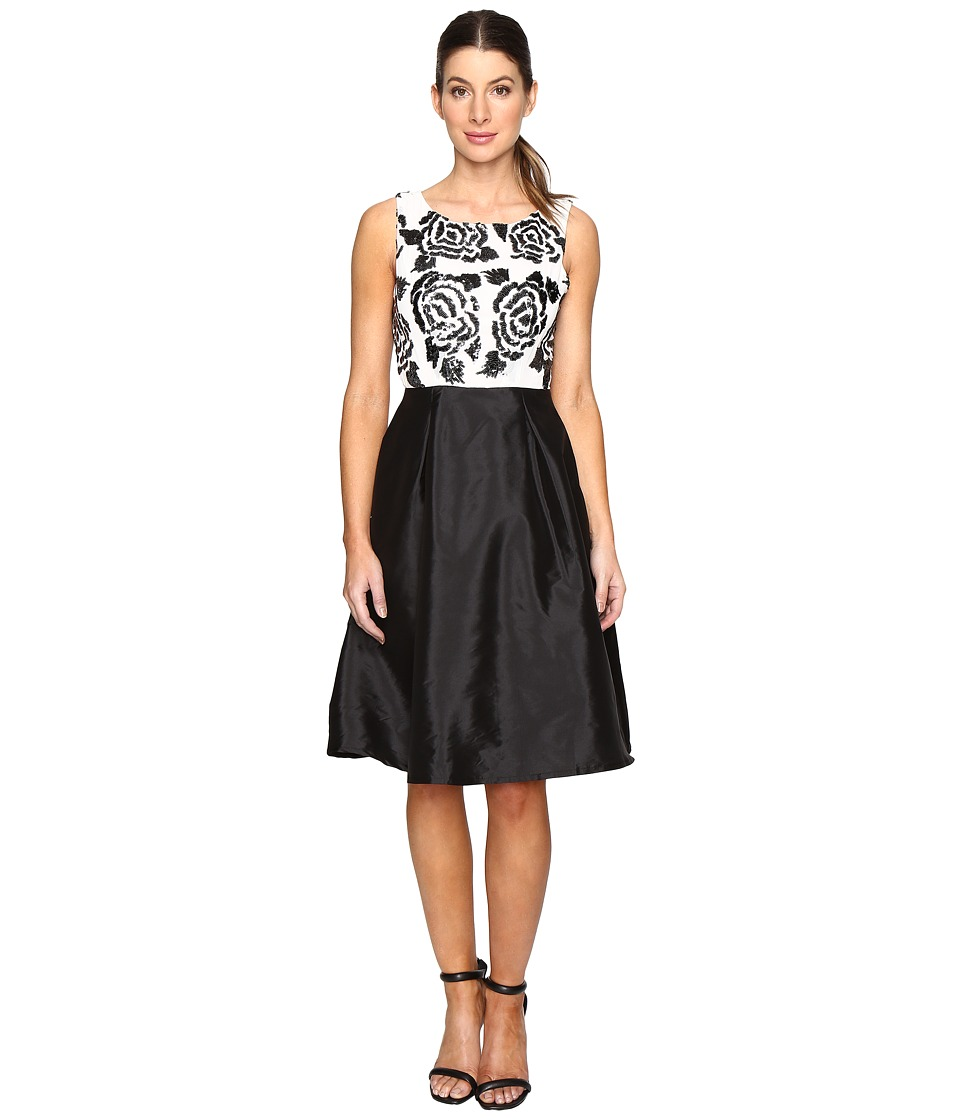 Eva by Eva Franco - Gretta Dress (Black/White) Women's Dress