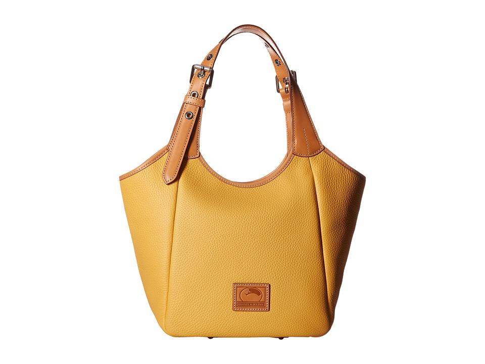 Dooney & Bourke - Patterson Penelope (Dandelion/Butterscotch Trim) Handbags