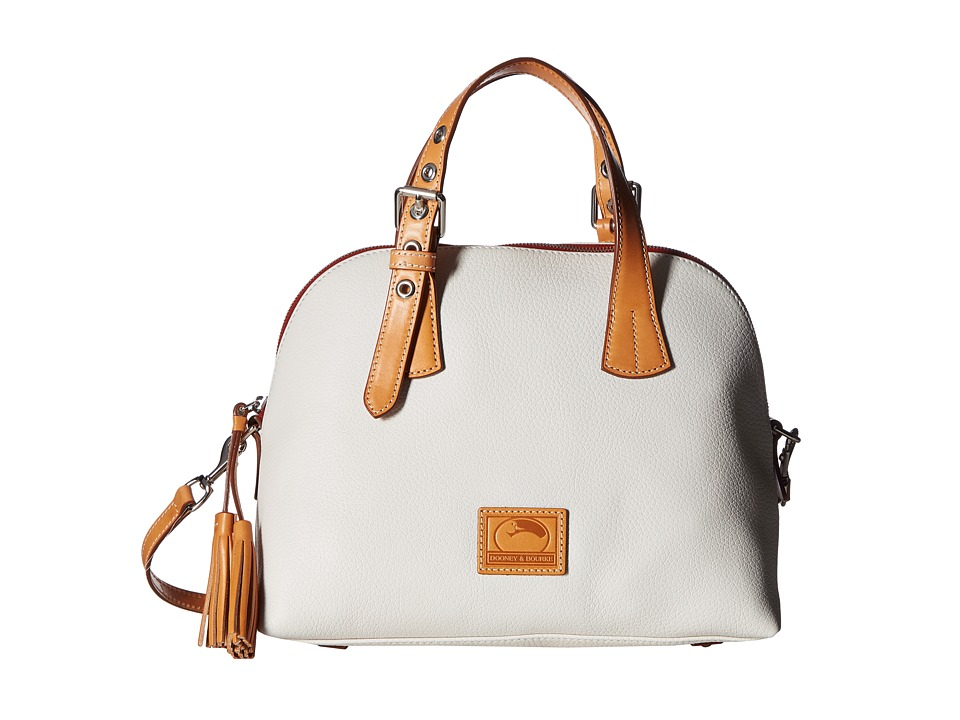 Dooney & Bourke - Patterson Small Audrey (Bone/Butterscotch Trim) Handbags