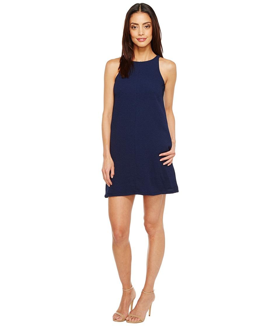 Brigitte Bailey - Crepe Tank A-Line w/ Pockets Dress (Navy) Women's Dress