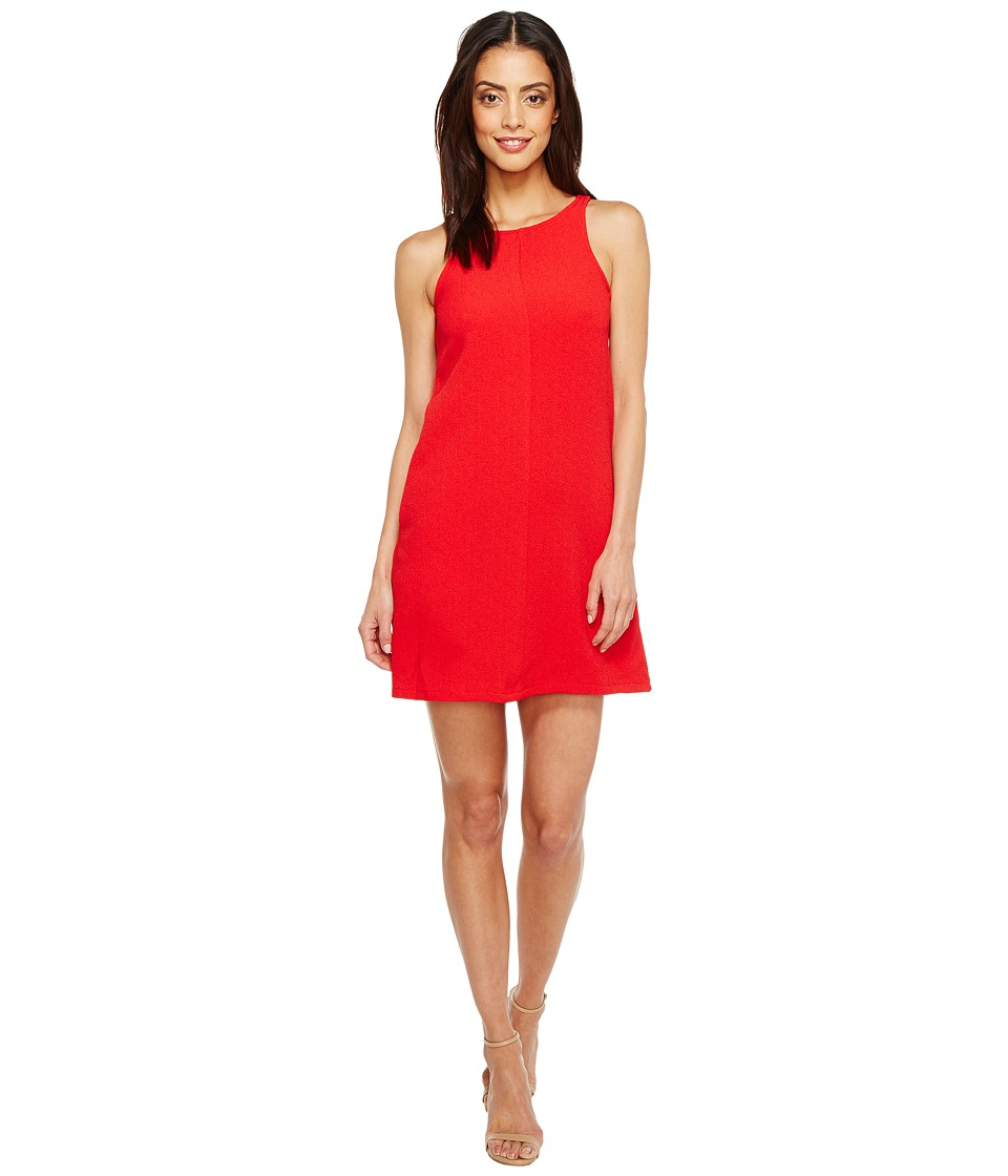 Brigitte Bailey - Crepe Tank A-Line w/ Pockets Dress (Red) Women's Dress