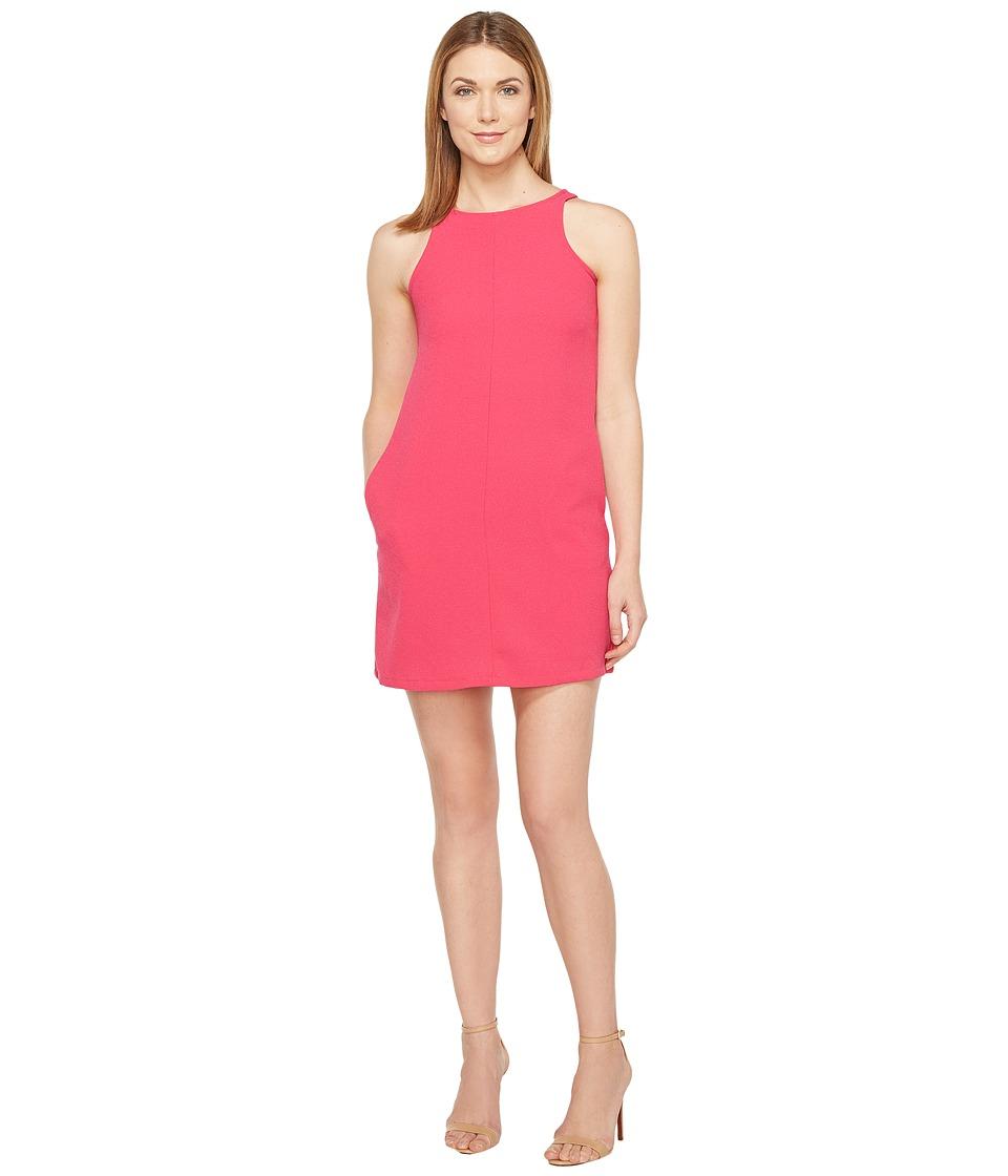 Brigitte Bailey - Crepe Tank A-Line w/ Pockets Dress (Fuchsia) Women's Dress
