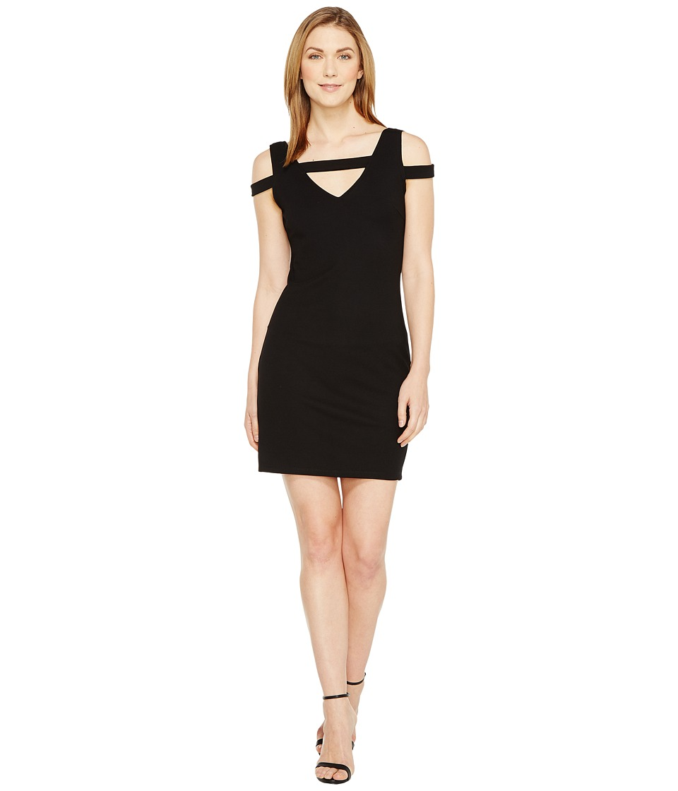 Christin Michaels - Galia Strappy Bodycon Dress (Black) Women's Dress