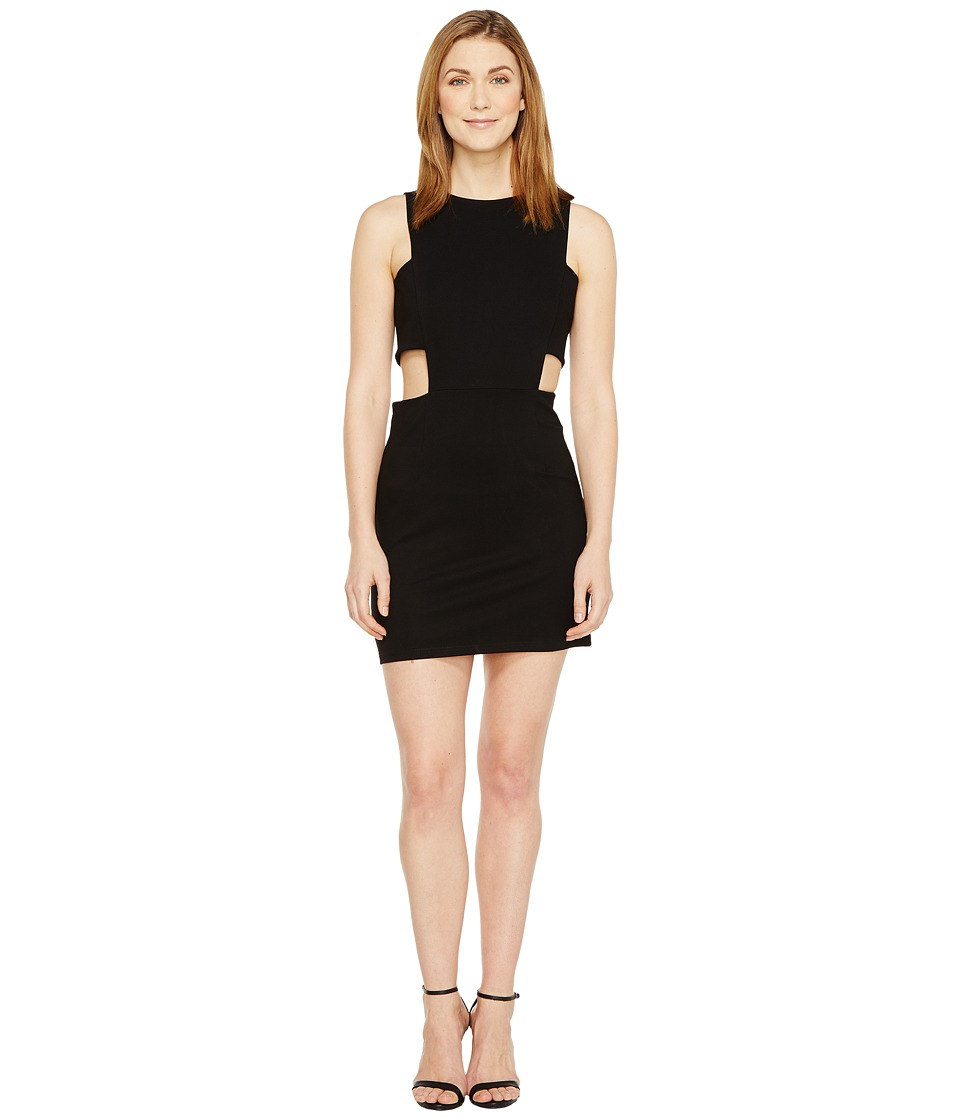 Christin Michaels - Grecia Sleeveless Bodycon Dress with Side Cut Outs (Black) Women's Dress