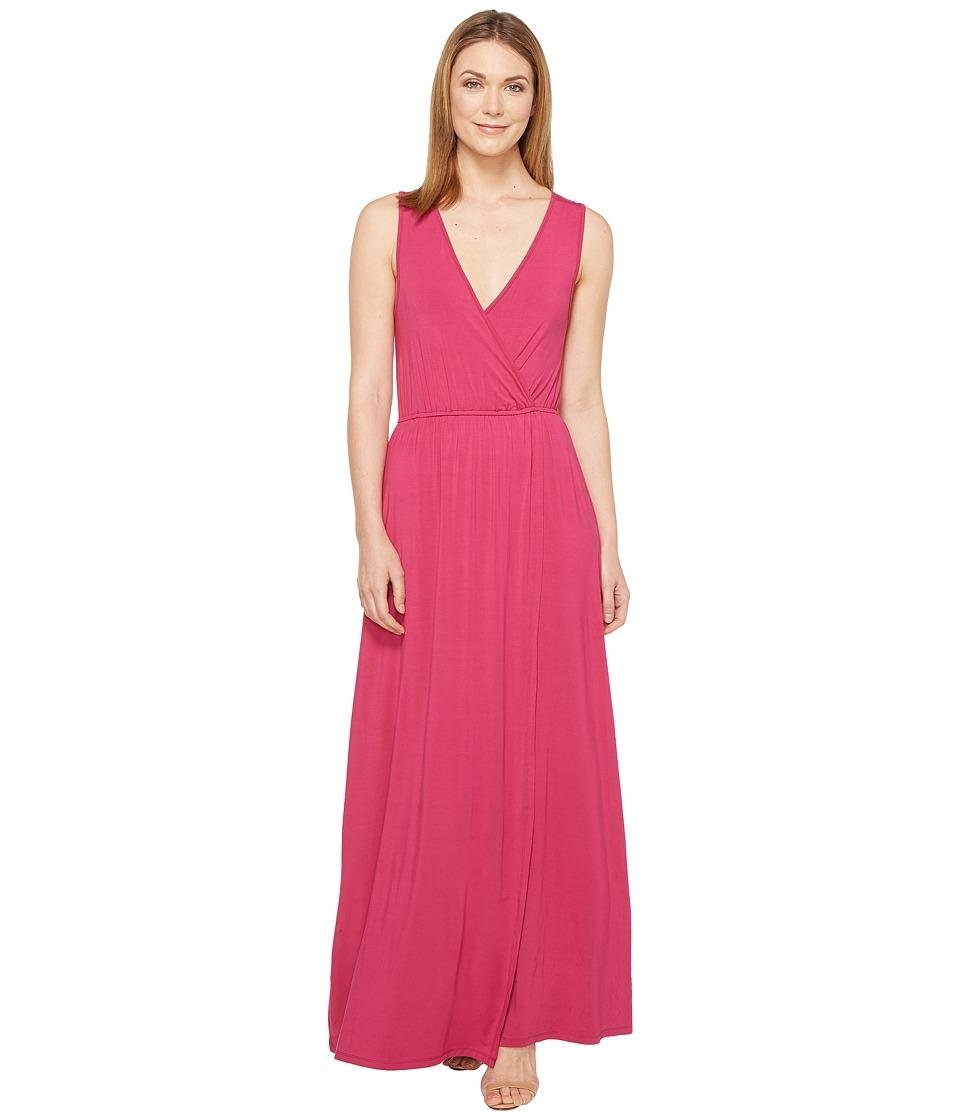 Culture Phit - Jain Maxi Dress (Raspberry) Women's Dress