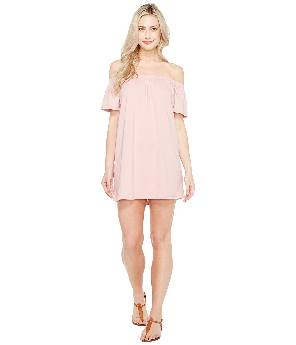 Culture Phit - Oriana Off the Shoulder Dress (Blush) Women's Dress