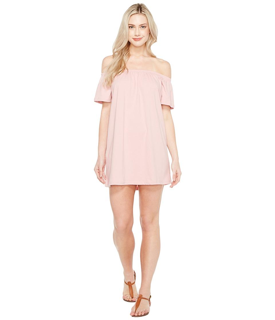 Culture Phit Oriana Off the Shoulder Dress (Blush) Women